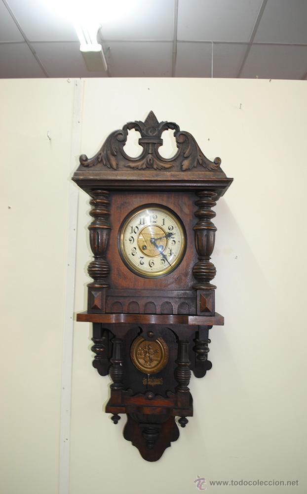 Reloj de pared caja de madera tallada comprar relojes - Relojes para decorar paredes ...