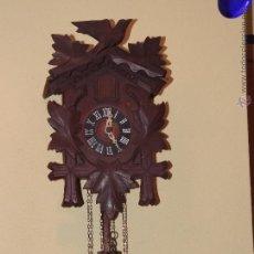 Relojes de pared: VIEJO RELOJ CUCU,TOTALMENTE MECÁNICO Y FUNCIONAL.. Lote 53895903