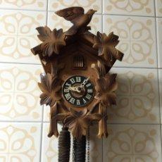 Relojes de pared: RELOJ CUCO DE MADERA. Lote 53961001