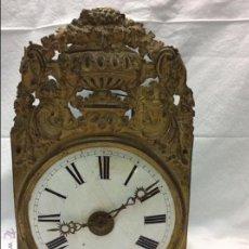 Wall clocks: ANTIGUA MAQUINARIA DE RELOJ MOREZ.. Lote 53985148