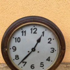 Relojes de pared: ANTIGUO RELOJ DE PARED. SIGLO XIX. Lote 54081509