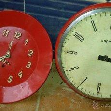 Relojes de pared: RELOJES DE PARED. Lote 54174269