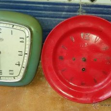 Relojes de pared: LOTE DE 2 RELOJES. Lote 54198845