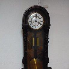 Relojes de pared: PRECIOSO RELOJ REGULADOR LENZKIRCH MIREN FOTOS. Lote 51887732