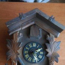 Relojes de pared: ANTIGUO RELOJ DE CUCO CUCU ALEMAN, PARA RESTAURAR + REGALO. Lote 68673581