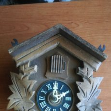 Relojes de pared: ANTIGUO RELOJ DE CUCO CUCU ALEMAN,MAQUINARIA REGULA A25/82 PARA RESTAURAR + REGALO. Lote 54520819