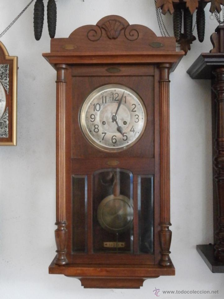 Antiguo reloj cuerda mec nico manual llave anti comprar - Relojes de pared clasicos ...