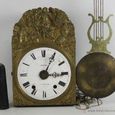 Relojes de pared: RELOJ DE MOREZ. MARCA ACHARD. MODELO A GENEVE. EN LATON . CIRCA 1920. Lote 95425320