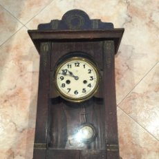 Relojes de pared: RELOJ MUY ANTIGUO ALEMAN MARCA JUNGHANS. Lote 54993753