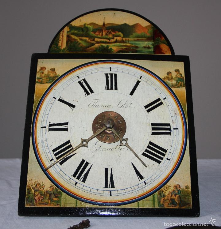 ANTIGUO RELOJ SELVA NEGRA (RATERA) (Relojes - Pared Carga Manual)