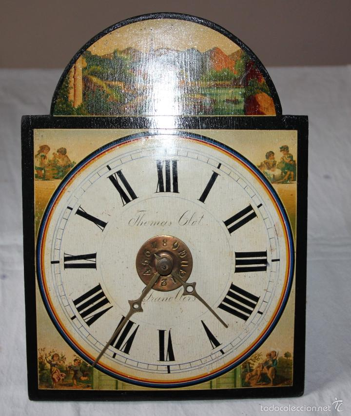 Relojes de pared: ANTIGUO RELOJ SELVA NEGRA (RATERA) - Foto 2 - 55138874