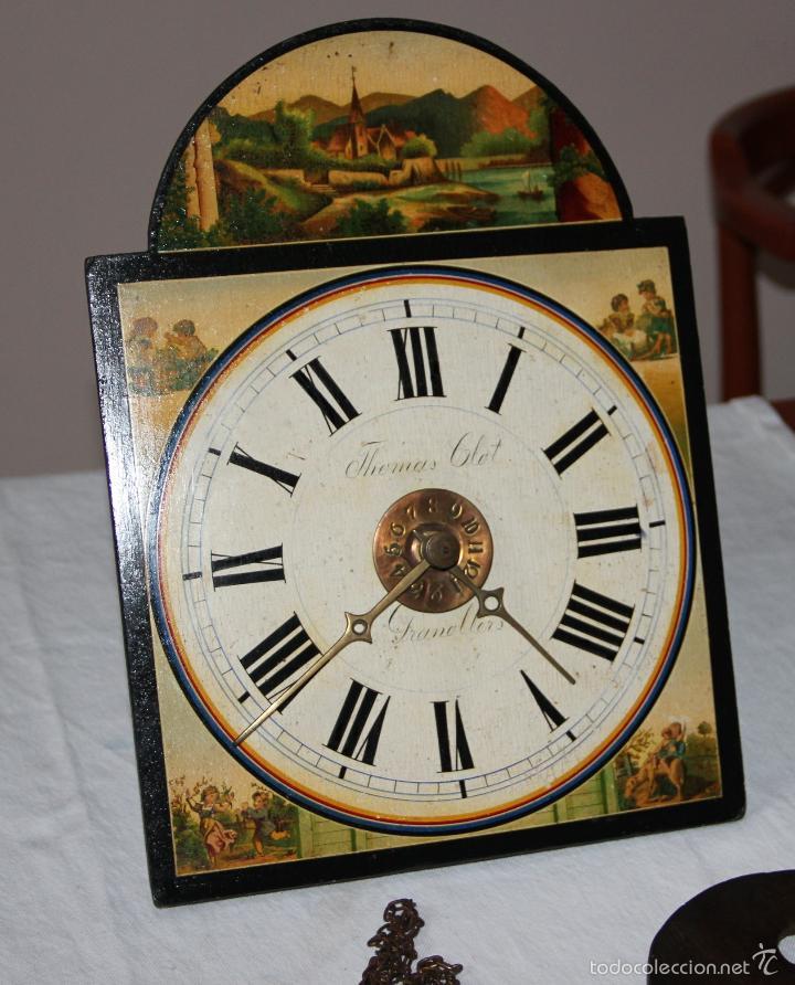 Relojes de pared: ANTIGUO RELOJ SELVA NEGRA (RATERA) - Foto 12 - 55138874