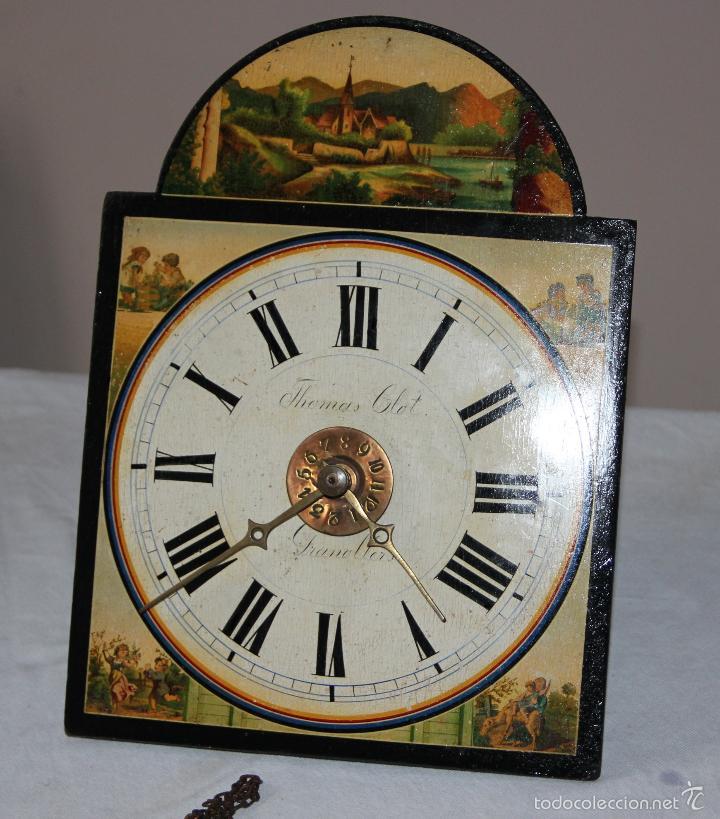Relojes de pared: ANTIGUO RELOJ SELVA NEGRA (RATERA) - Foto 13 - 55138874