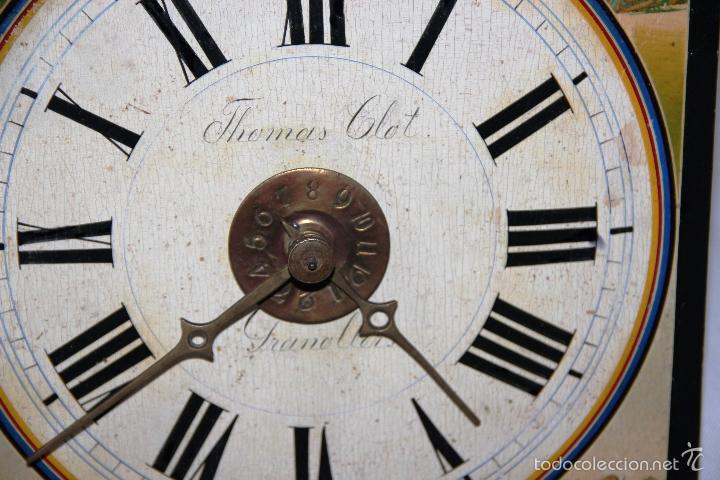 Relojes de pared: ANTIGUO RELOJ SELVA NEGRA (RATERA) - Foto 15 - 55138874