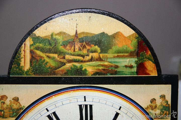 Relojes de pared: ANTIGUO RELOJ SELVA NEGRA (RATERA) - Foto 16 - 55138874