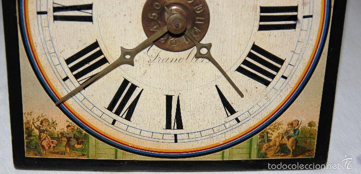 Relojes de pared: ANTIGUO RELOJ SELVA NEGRA (RATERA) - Foto 19 - 55138874