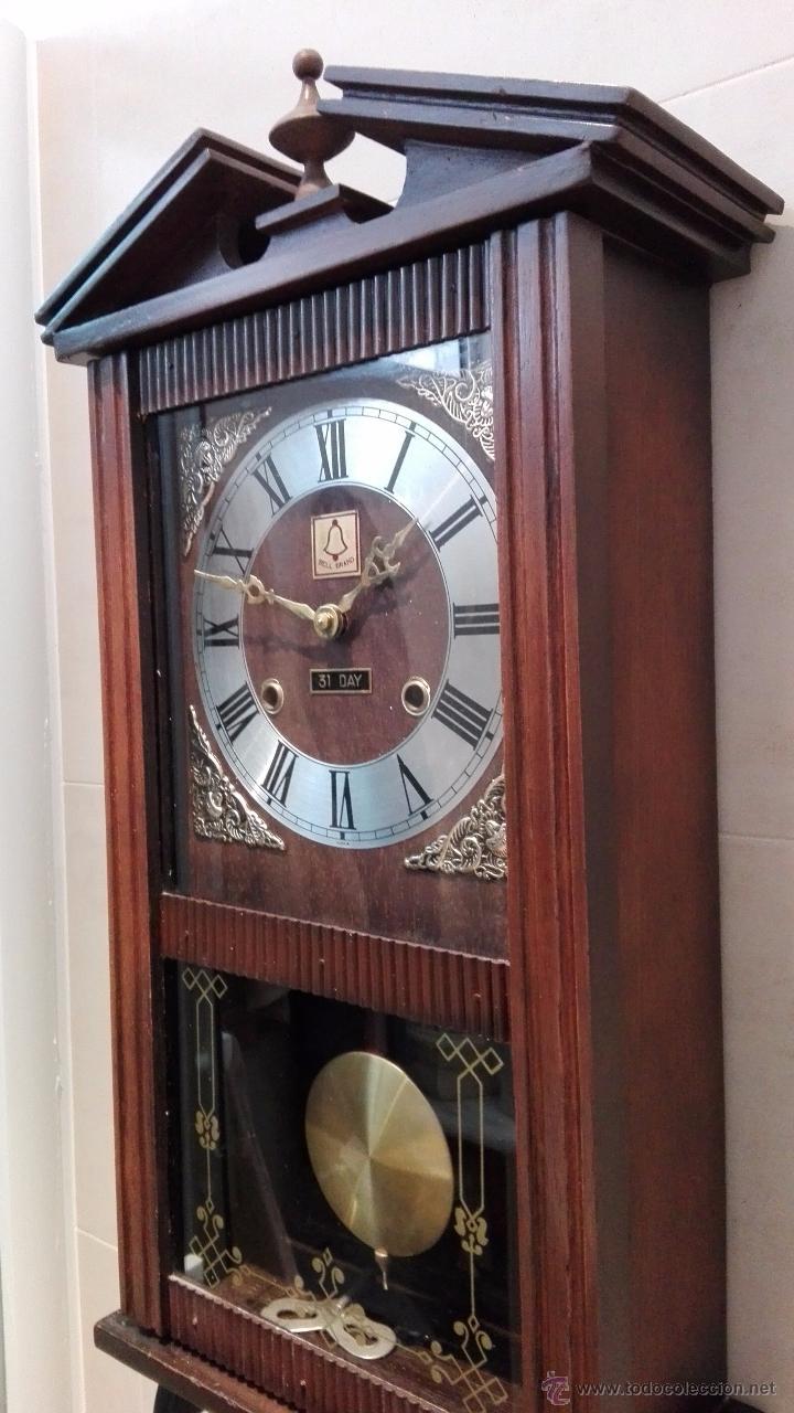Antiguo reloj de pared bell brand korea 31 dias vendido - Relojes para decorar paredes ...