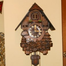 Relojes de pared: RELOJ CUCU A PILAS TAMAÑO XL. Lote 181154096