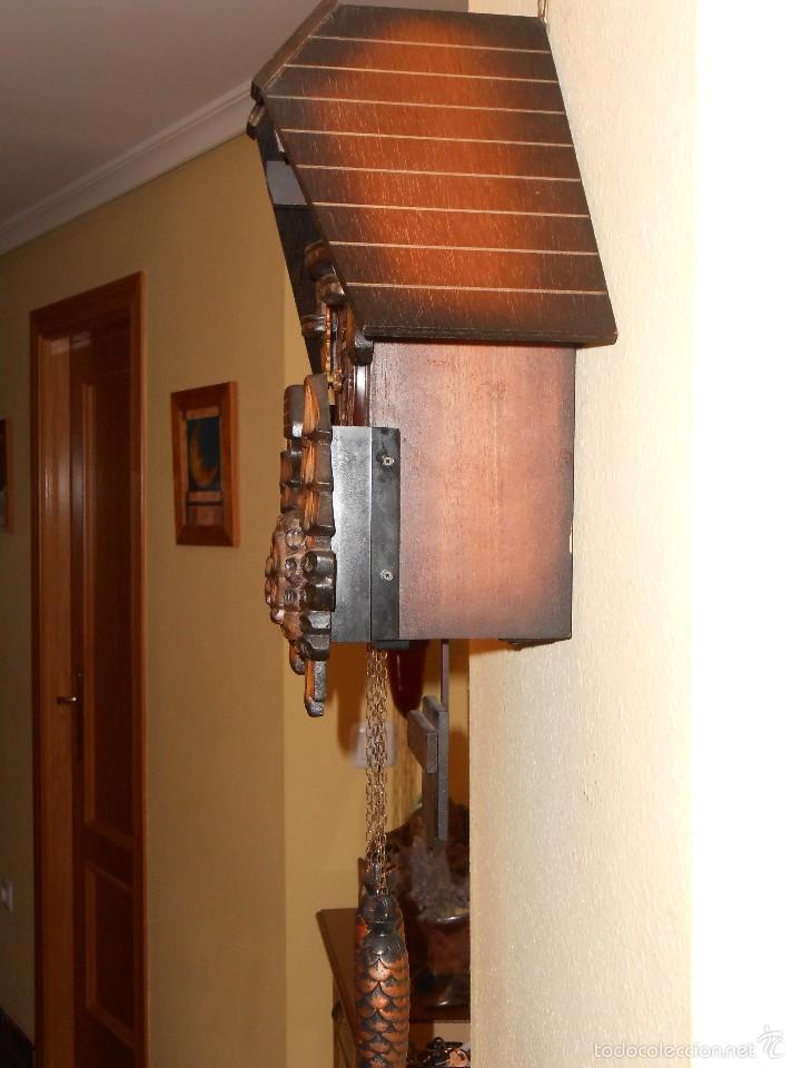 Relojes de pared: RELOJ CUCU A PILAS TAMAÑO XL - Foto 3 - 181154096