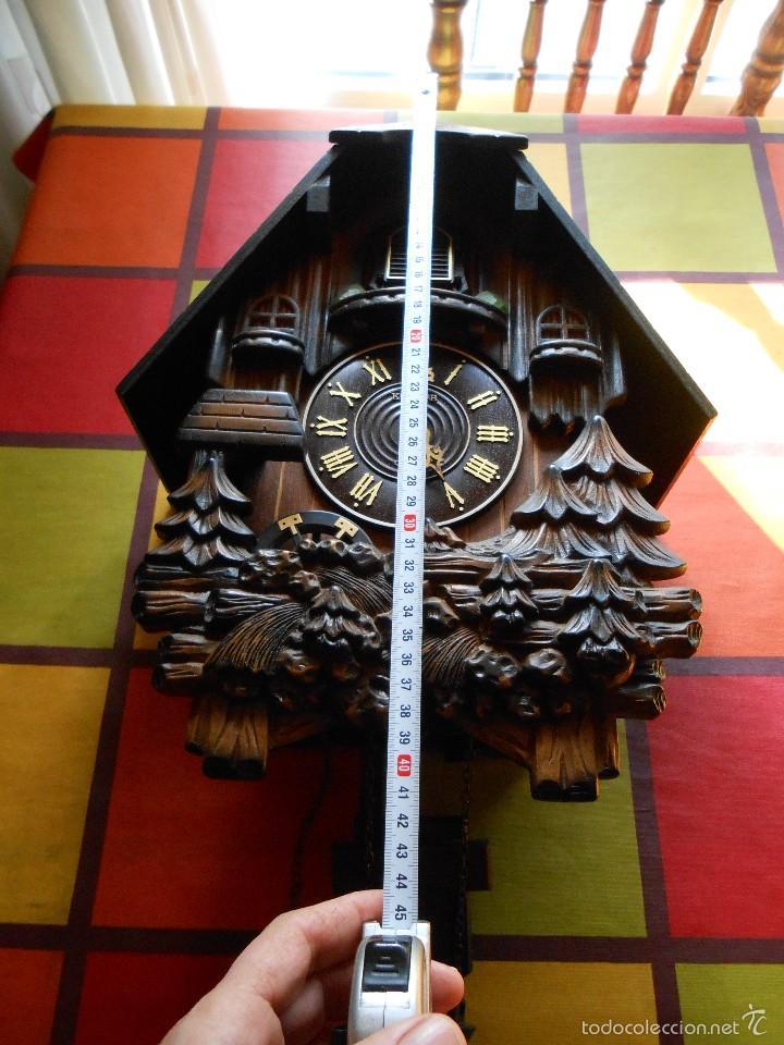 Relojes de pared: RELOJ CUCU A PILAS TAMAÑO XL - Foto 4 - 181154096