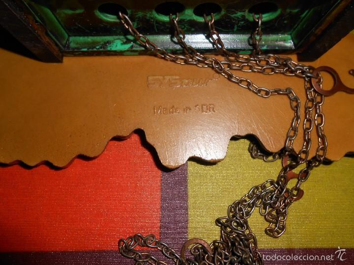 Relojes de pared: RARO RELOJ CUCU HECHO EN GDR,TOTALMENTE MECÁNICO Y FUNCIONAL. - Foto 6 - 177422257