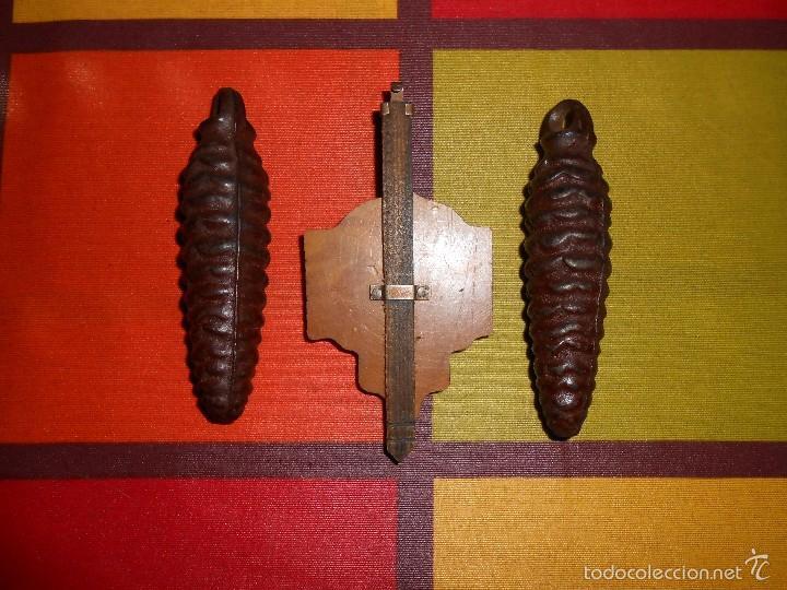 Relojes de pared: RARO RELOJ CUCU HECHO EN GDR,TOTALMENTE MECÁNICO Y FUNCIONAL. - Foto 11 - 177422257