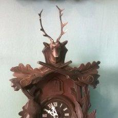Relojes de pared: RELOJ DE CUCO ALEMAN.. Lote 55932906
