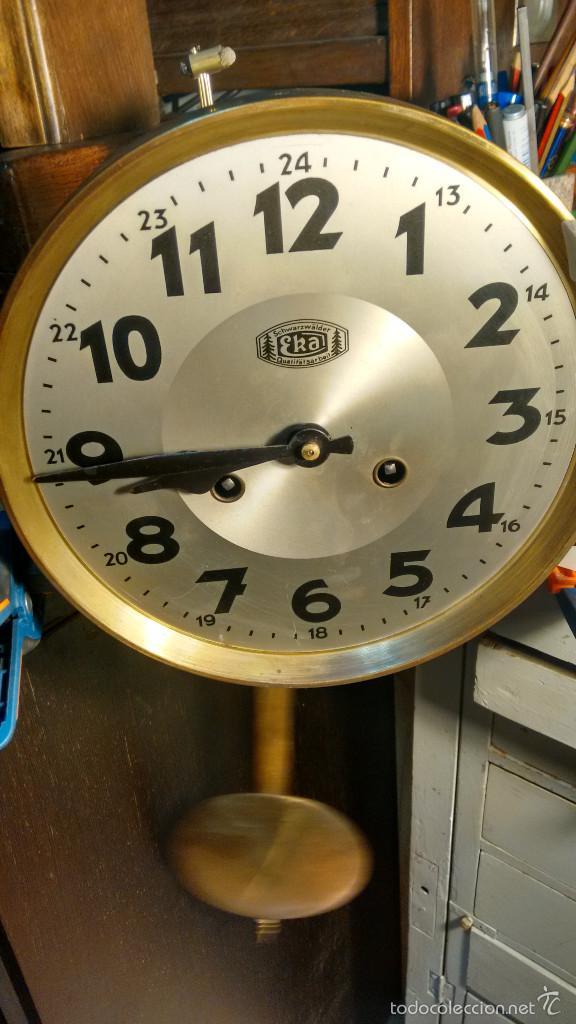 Maquinaria marca eka con p ndulo funcionando comprar - Maquinaria de reloj de pared con pendulo ...