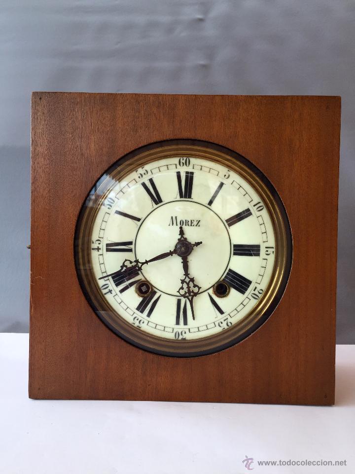 Reloj morez caja con esfera porcelana y mecanis vendido - Mecanismo reloj pared ...