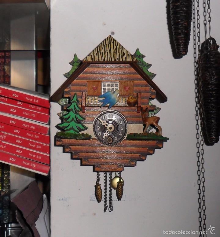 RELOJ DE CUCO MECÁNICO (Relojes - Pared Carga Manual)