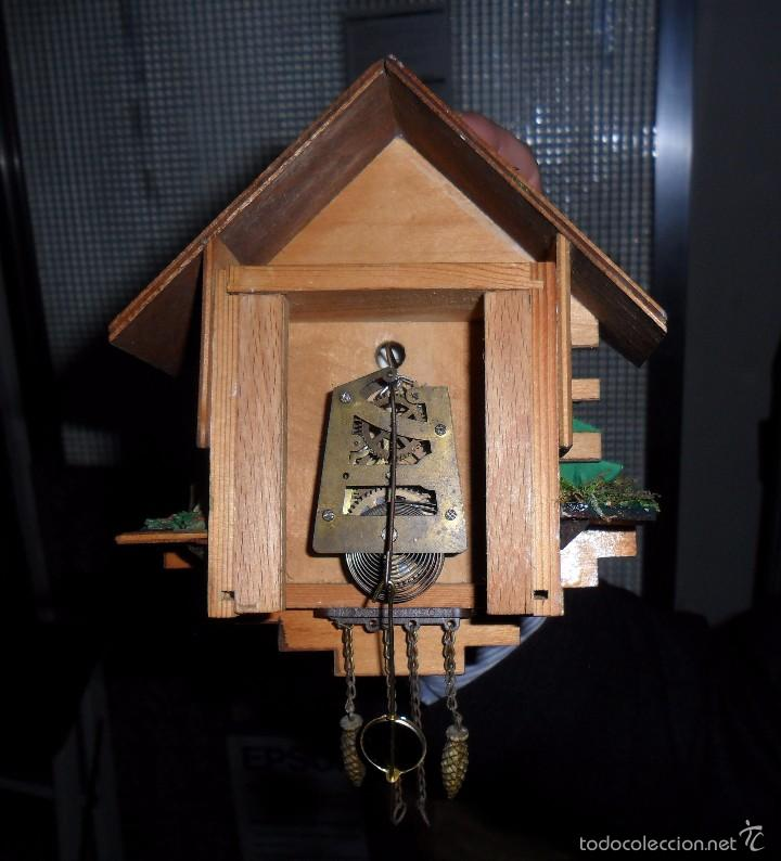 Relojes de pared: Reloj de cuco mecánico - Foto 4 - 56289124