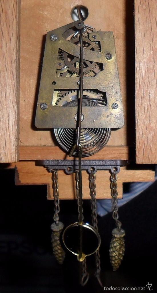 Relojes de pared: Reloj de cuco mecánico - Foto 5 - 56289124