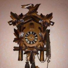 Relojes de pared: RELOJ ANTIGUO PARED CUCU-CUCO SELVA NEGRA ALEMANA -P5. Lote 107446826