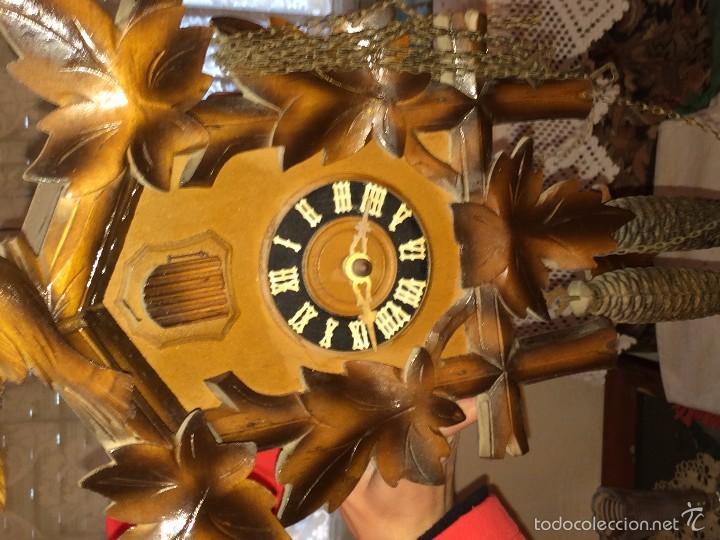 Relojes de pared: RELOJ ANTIGUO PARED CUCU-CUCO SELVA NEGRA ALEMANA -P5 - Foto 2 - 107446826