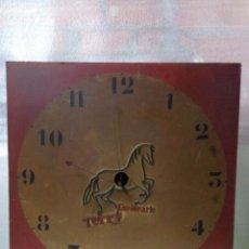 Relojes de pared: MUY ANTIGUO RELOJ DE PARED . PROPAGANDA TERRY CENTENARIO . MEDIDA 73 X 73 CM. Lote 56466755