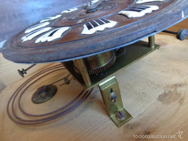 Relojes de pared: MUY ANTIGUO (SOBRE 1880) E IMPORTANTE RELOJ A CUERDAS SONERIA DE HORAS Y MEDIAS, FUNCIONANDO - Foto 10 - 56498447