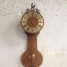 Relojes de pared: RELOJ PARED ALARGADO. Lote 56548996