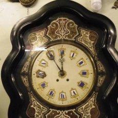 Relojes de pared: RELOJ MOREZ SIGLO XIX NAPOLEÓN III. Lote 56700488