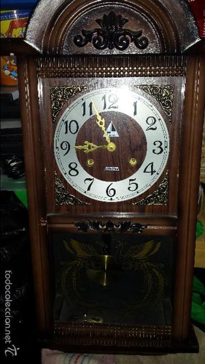 RELOJ CON SONORIA CON LLAVE FUNCIONANDO (Relojes - Pared Carga Manual)