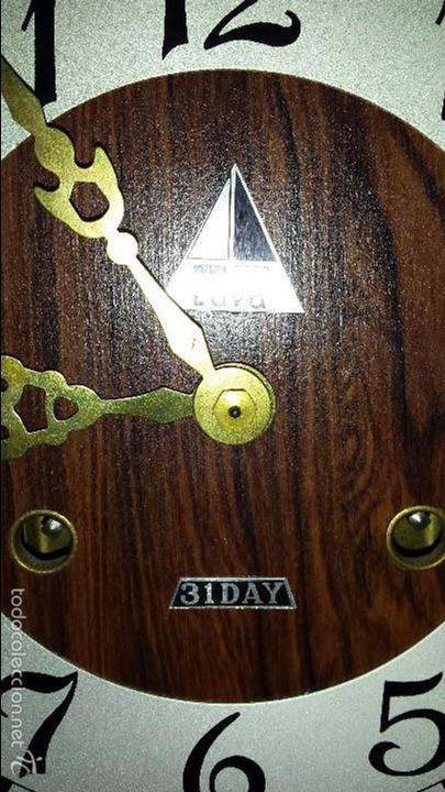 Relojes de pared: RELOJ CON SONORIA CON LLAVE FUNCIONANDO - Foto 3 - 56705410