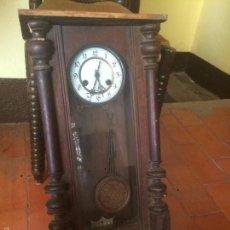 Relojes de pared: ANTIGUO RELOJ DE PARED ALEMAN DE LOS AÑOS 10-20. Lote 57399520