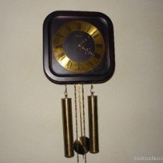 Relojes de pared: RELOJ DE PARED CON PESAS LINDEN - MADE IN GERMANY. Lote 57959410