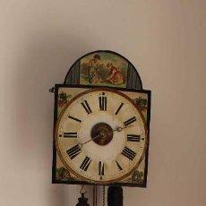 Relojes de pared: RELOJ DE PARED TIPO RATERA DEL SIGLO XIX. Lote 58392720