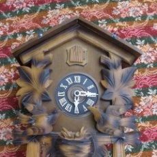 Relojes de pared: GRAN RELOJ DE CUCO CON PÁJAROS MÓVILES. Lote 59600999