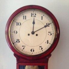 Relojes de pared: RELOJ DIPLOMATICO. MAQUINARIA GUSTAV BECKER.. Lote 60696675