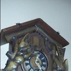 Relojes de pared: RELOJ DE CUCO ALEMAN FUNCIONANDO. Lote 60087859