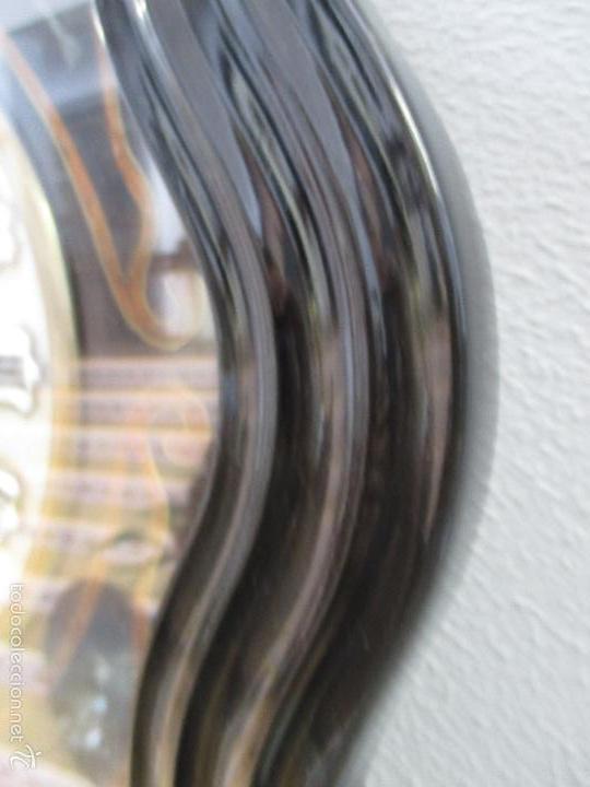 Relojes de pared: Reloj de Pared - Isabelino - Marquetería en Nácar - Esfera de Alabastro - Maquina París - Funciona - Foto 8 - 60943755