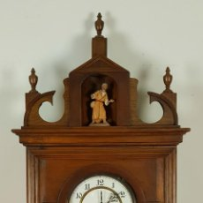 Relojes de pared: RELOJ DE PARED EN MADERA. MAQUINARIA PHILIP HASS SOHN. ALEMANIA. SIGLO XIX-XX. . Lote 139578352