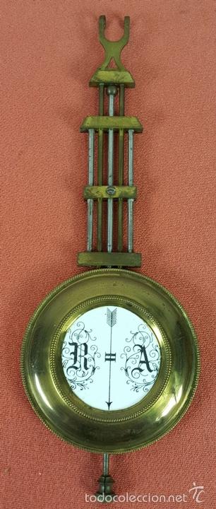 Relojes de pared: RELOJ DE PARED EN MADERA. MAQUINARIA PHILIP HASS SOHN. ALEMANIA. SIGLO XIX-XX. - Foto 17 - 139578352