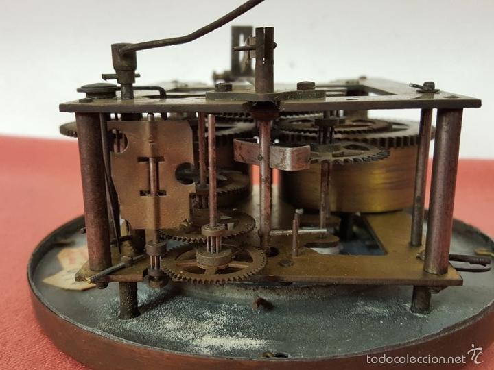 Relojes de pared: RELOJ DE PARED EN MADERA. MAQUINARIA PHILIP HASS SOHN. ALEMANIA. SIGLO XIX-XX. - Foto 18 - 139578352